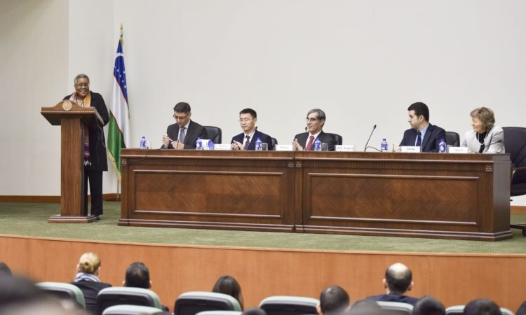 Ambassador Pamela L. Spratlen's Welcome Remarks at the Tashkent State University of Law