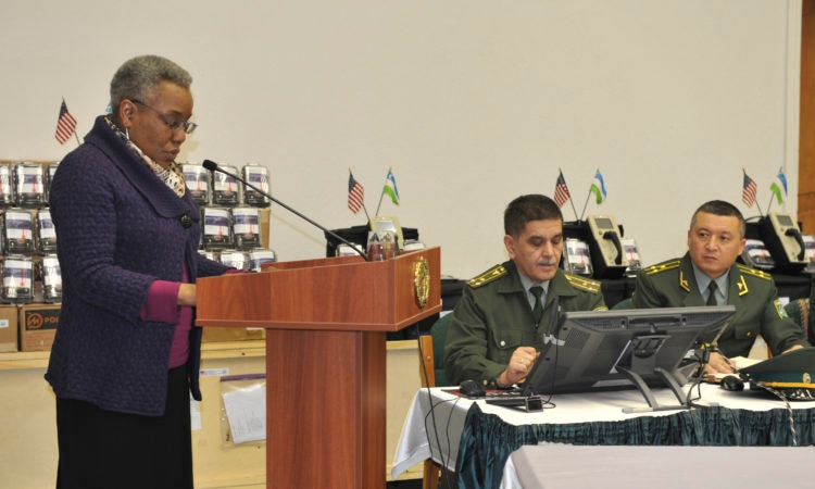 Ambassador Pamela L. Spratlen's Remarks for Handheld Radiation Detector Donation Event