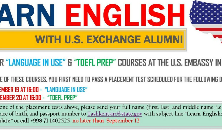 Learn English with Alumni