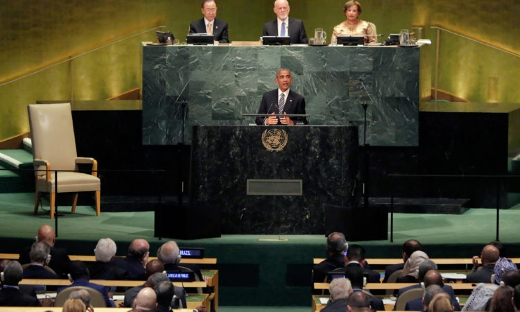 Address by President Obama to the 71st Session of the United Nations General Assembly
