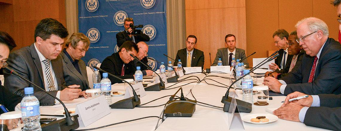 Пресс-конференция с заместителем государственного секретаря США Томасом Шенноном