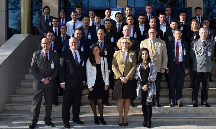 George C. Marshall European Center Hosts Cyber Security Workshop in Tashkent