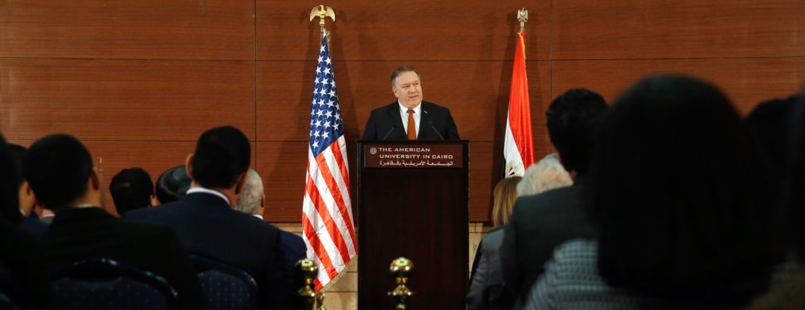 A Force for Good: America Reinvigorated in the Middle East