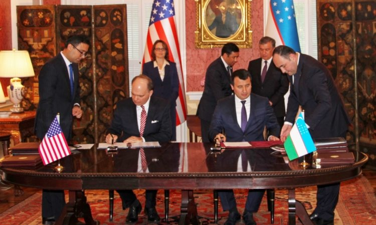 Landmark U.S.-Uzbekistan Agreements Signed on Education and Culture