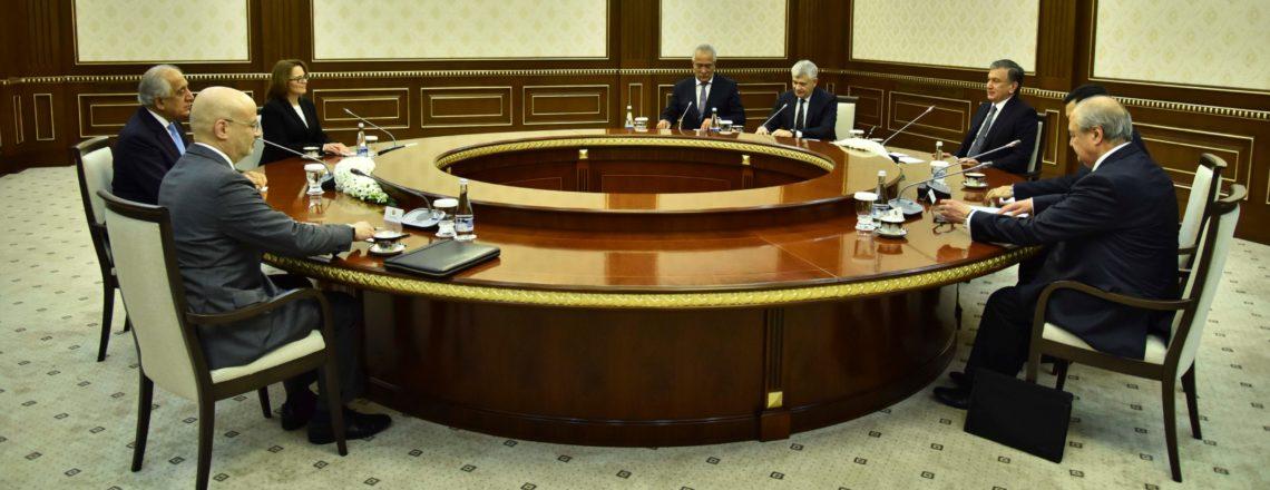 Специальный представитель по афганскому примирению Залмай Халилзад посетил Узбекистан