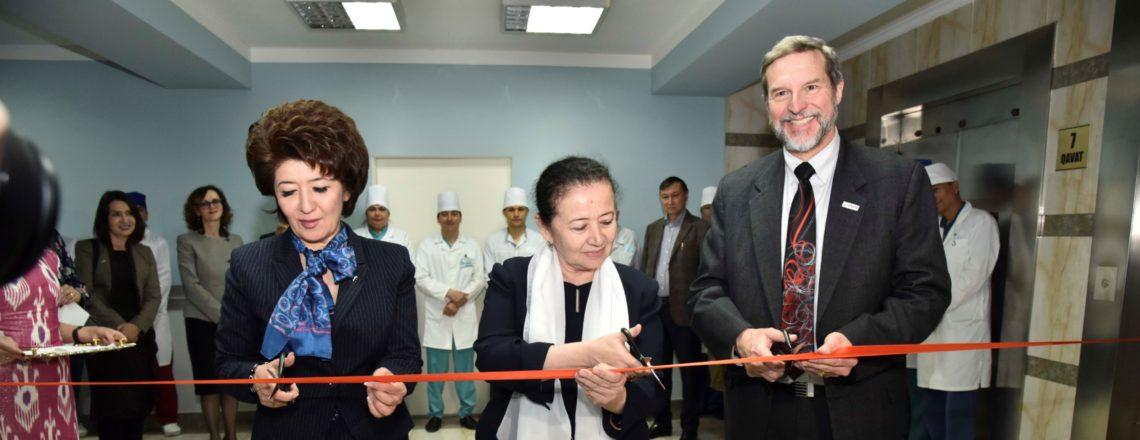 Соединенные Штаты Америки и Узбекистан открывают