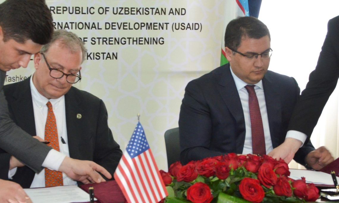 USAID and Ministry of Justice Sign Memorandum of Understanding to Improve Citizen Access to Justice