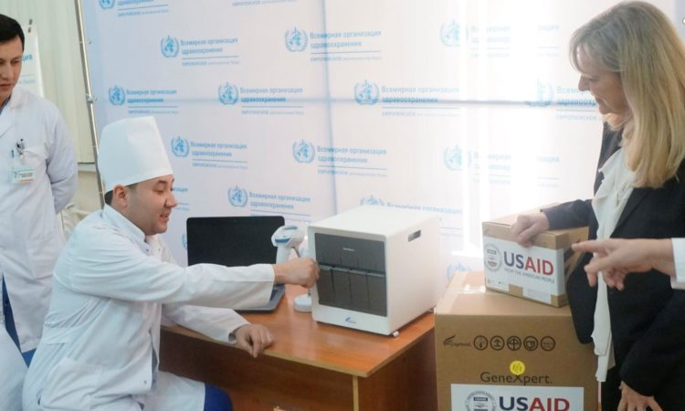 United States donates rapid TB detection equipment to Uzbekistan
